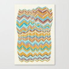 Grandma's blanket Canvas Print