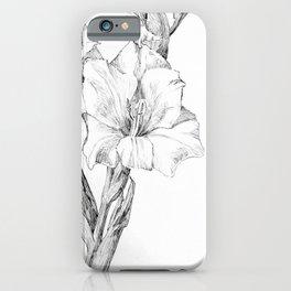 Julie de Graag - Gladiolus iPhone Case