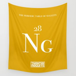 Periodic Table of Nuggets Wall Tapestry