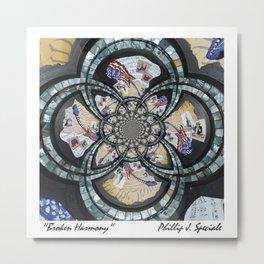 """Broken Harmony"" Digital Metal Print"