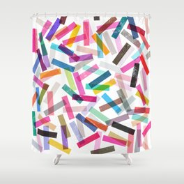 fiesta 3 Shower Curtain