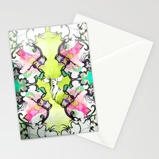 Kaleidoscope Deer Stationery Cards
