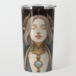 The lovers at the crossroads Travel Mug