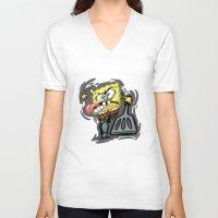 spongebob V-neck T-shirts featuring SPONGEBOB by September 9