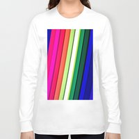 manchester Long Sleeve T-shirts featuring mANCHESTER pRIDE 323 by ANGELA SEAGER - Photo-based Artist