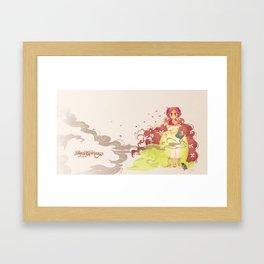 Tamaura of the Forest Framed Art Print