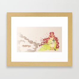 Tamaura of the Forest Framed Art Print