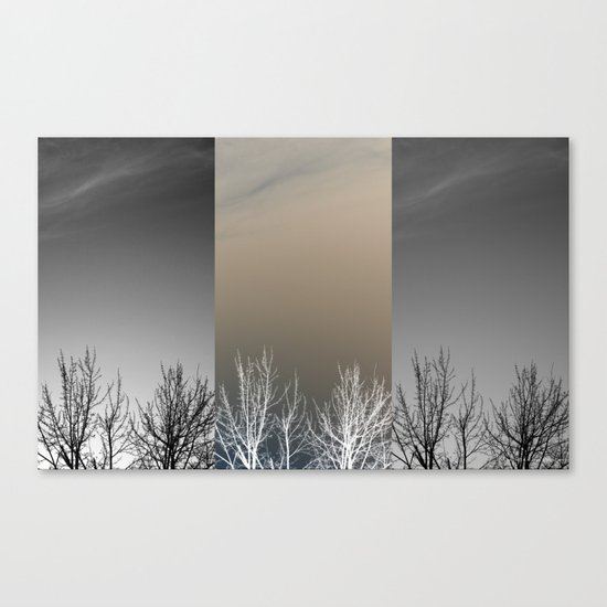 Dreary Canvas Print