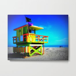 Baywatch Metal Print