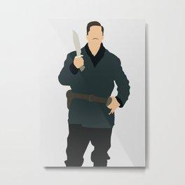 Aldo Raine Inglourious Basterds movie Metal Print