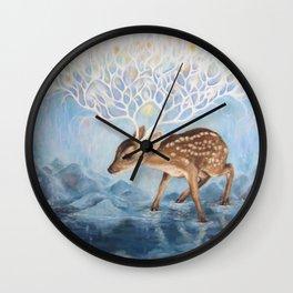 Antlers Wall Clock