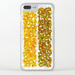 BARS D1 Clear iPhone Case
