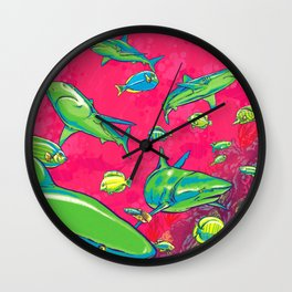 The Reef Wall Clock