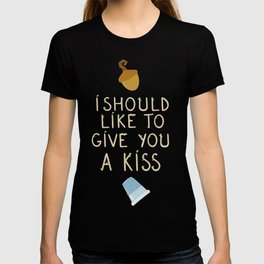 "Kisses - Quote from ""Peter Pan"" T-shirt"