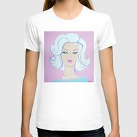 barbie T-shirts featuring Frosty Barbie by Little Bunny Sunshine