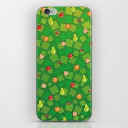 Fruit Basket iPhone Skin