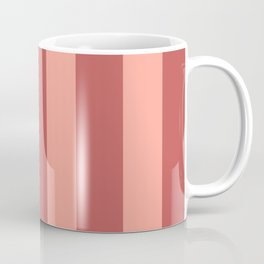 Dusty Rose Stripes Coffee Mug