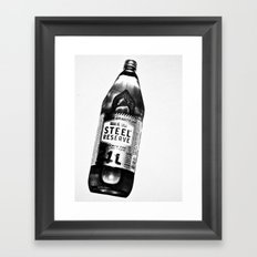 40 OZ Framed Art Print