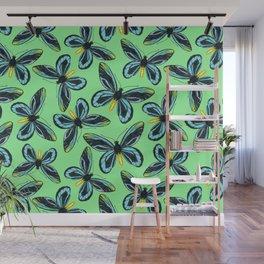 Queen Alexandra' s birdwing butterfly pattern Wall Mural