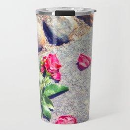 Trampled down rose Travel Mug