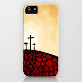 Forgiven - Christian Art By Sharon Cummings iPhone Case