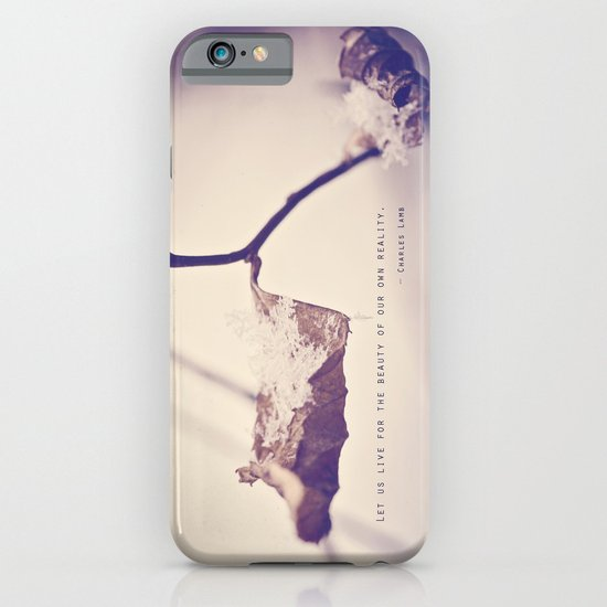 Live for the Beauty iPhone & iPod Case