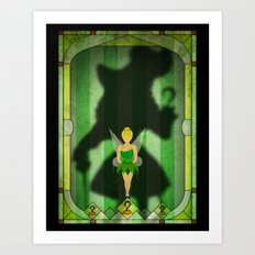 Shadow Collection, Series 1 - Hook Art Print