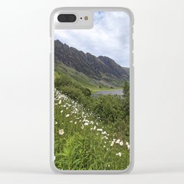 Glen Coe, Scottish Highlands Clear iPhone Case