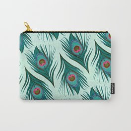 Boho Feather Flow Carry-All Pouch