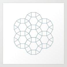 #283 Council – Geometry Daily Art Print