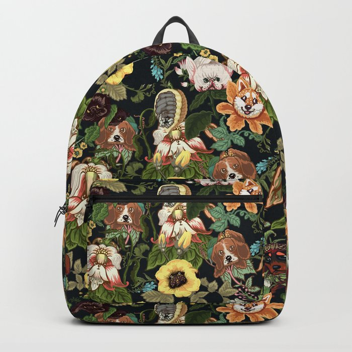 Botanical Puppies Backpack