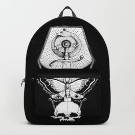 Wolf Ouroboros Sword Backpack