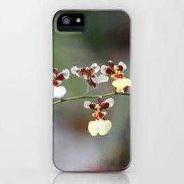 A Beauty Orquídea iPhone Case