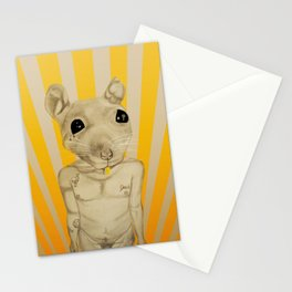 Common Street Rat Stationery Cards