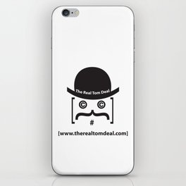 therealtomdeal logo iPhone Skin