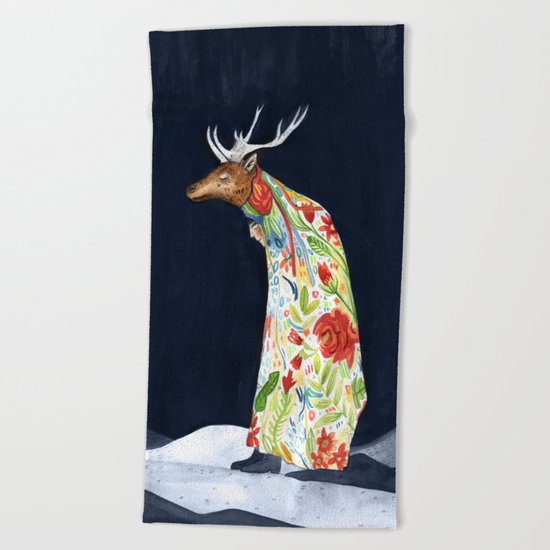 Wilder Mann - The Stag Beach Towel
