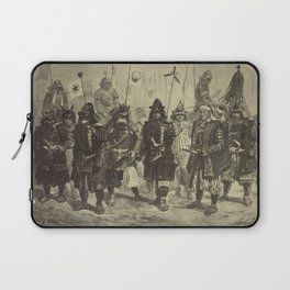 Japanese Warriors Laptop Sleeve