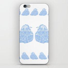 Blue Birds iPhone Skin