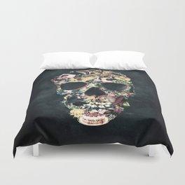 Vintage Skull Duvet Cover