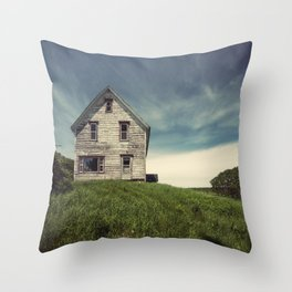 Forgotten in the Country Throw Pillow