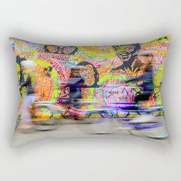 Colourful Berlin Wall Rectangular Pillow