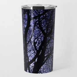 Barren Tree Branches Travel Mug