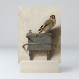 The Goldfinch Vintage Painting Mini Art Print
