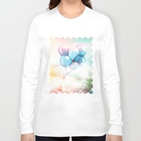 fly Long Sleeve T-shirts featuring Fly by DagmarMarina