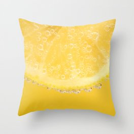 Yummy Lemon Throw Pillow