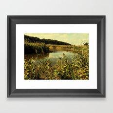 river lane Framed Art Print