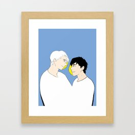 victuuri gold - yuri on ice Framed Art Print