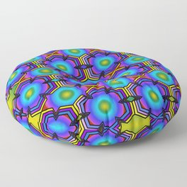 Arcade Neon Floor Pillow