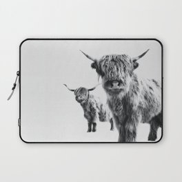 HIGHLAND COW - LULU & SARA Laptop Sleeve
