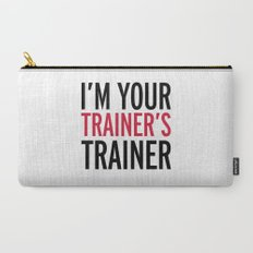Trainer's Trainer Gym Quote Carry-All Pouch
